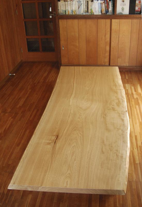 セン一枚板天板 無垢テーブル