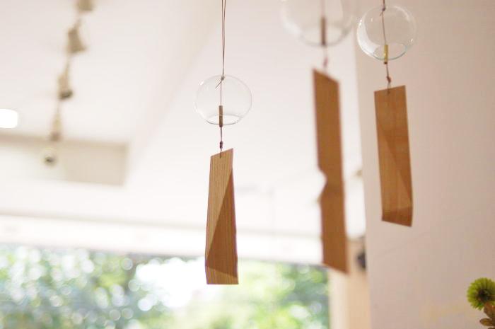 木の小物|風鈴「涼木」