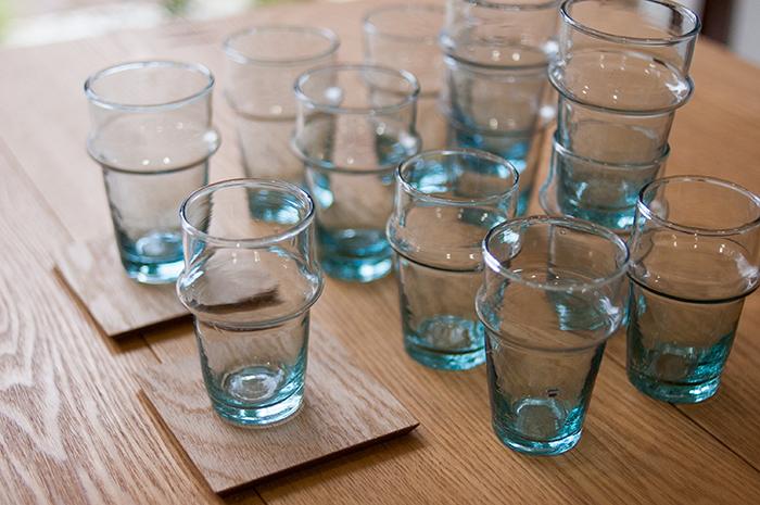 セレクト モロッコ産「ミントティーグラス」