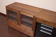 無垢オーダー家具、TANAテレビボード、サムネイル画像