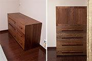 無垢オーダー家具、TANAチェストとTANAクローゼット、サムネイル画像