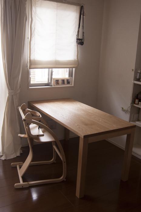 オーダー家具の納品|スタンダードテーブル