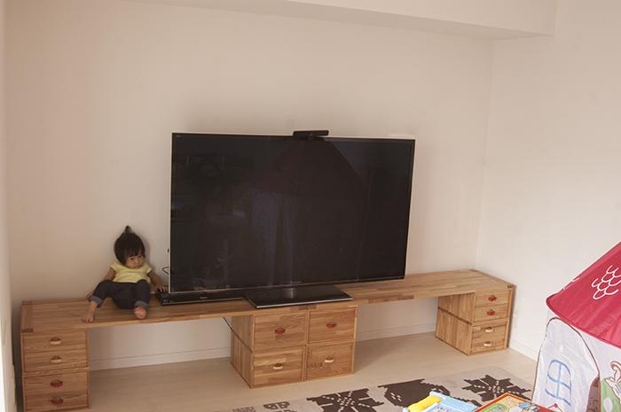 オーダー家具の納品|いろはボックス、いろは天板