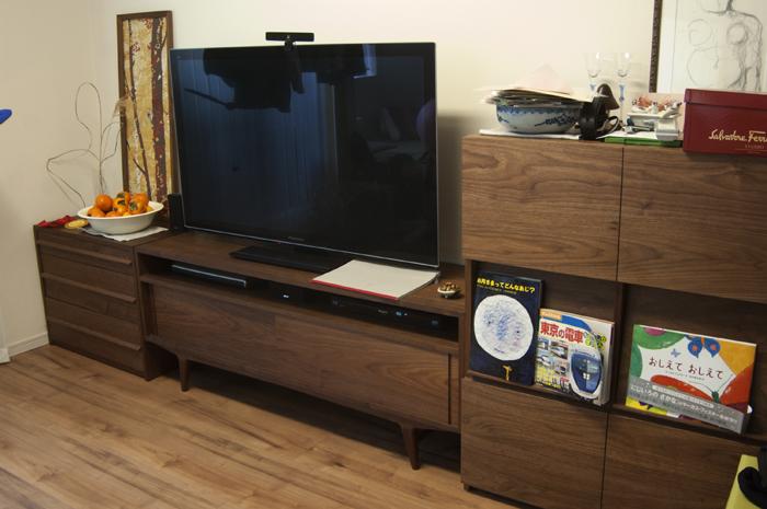 オーダー家具の納品 キャビネット、テレビボード、チェスト