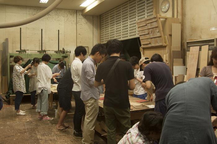 イベント「こうぼうのおんがく Vol.3」|ワークショップ風景