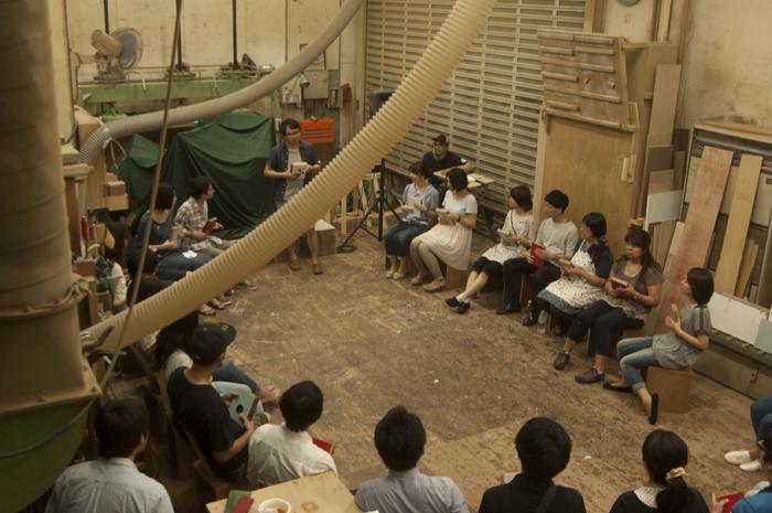 イベント「こうぼうのおんがく Vol.3」|ワークショップ後の演奏練習