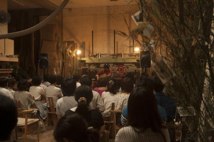 イベント「こうぼうのおんがく Vol.3」|ライブ風景