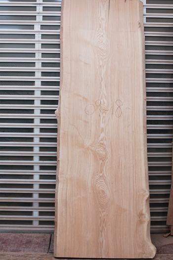 タモ 無垢天板 一枚板