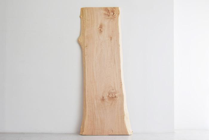 トチ一枚板天板 / N14-22