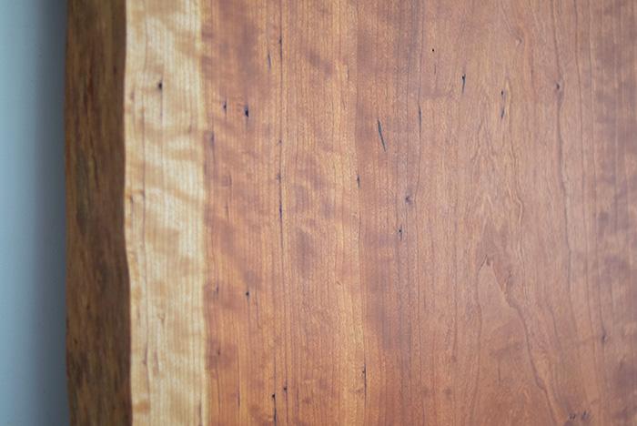 アメリカンチェリー無垢一枚板天板
