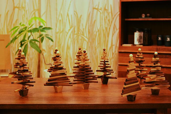 クリスマスツリーをつくろう!ワークショップ