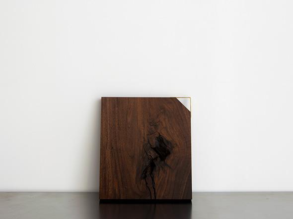 無垢材 カッティングボード kittaki / NO,002 / omote / walnut