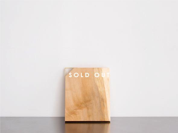 木製カッティングボード kittaki NO,040 トチ 販売済み
