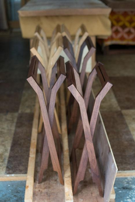 折りたたみ椅子 ぱたむスツールをまとめて仕上げました
