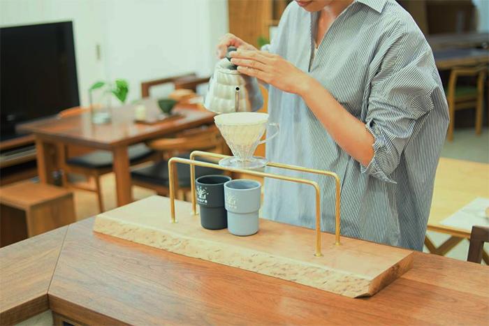 kittakiコーヒードリップスタンド 最初の試作品