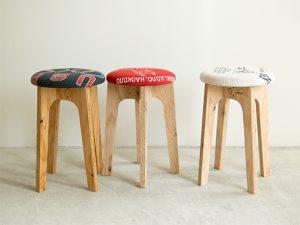 完成品 old clothes stool