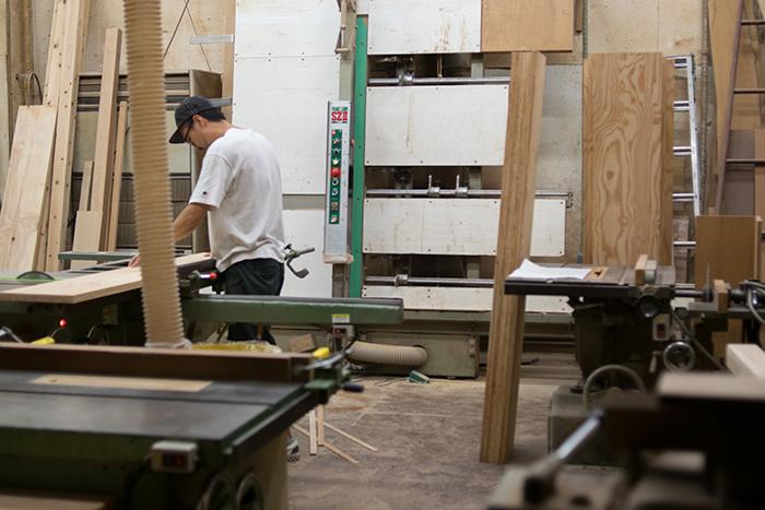 新しい家具 FACTORY RACK 製作中