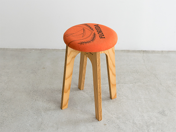old clothes stool OCS-005