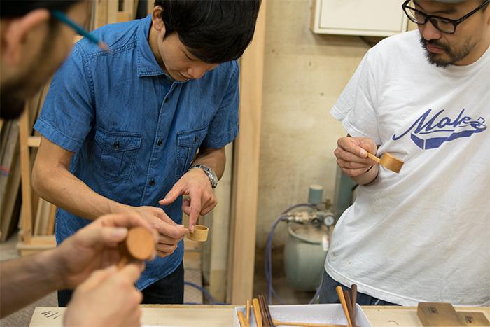 木工ふたり組 石井さんカトラリー