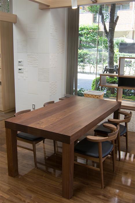 木製テーブル ウォールナット アッツテーブル
