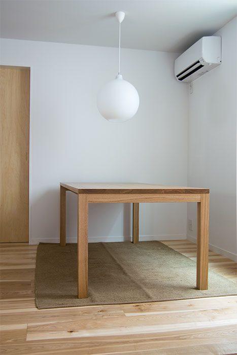 スタンダードテーブル タイプ2 タモ 無垢 家具