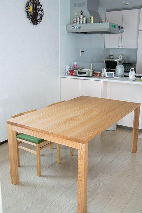 スタンダードテーブル・タイプ2 / タモ材