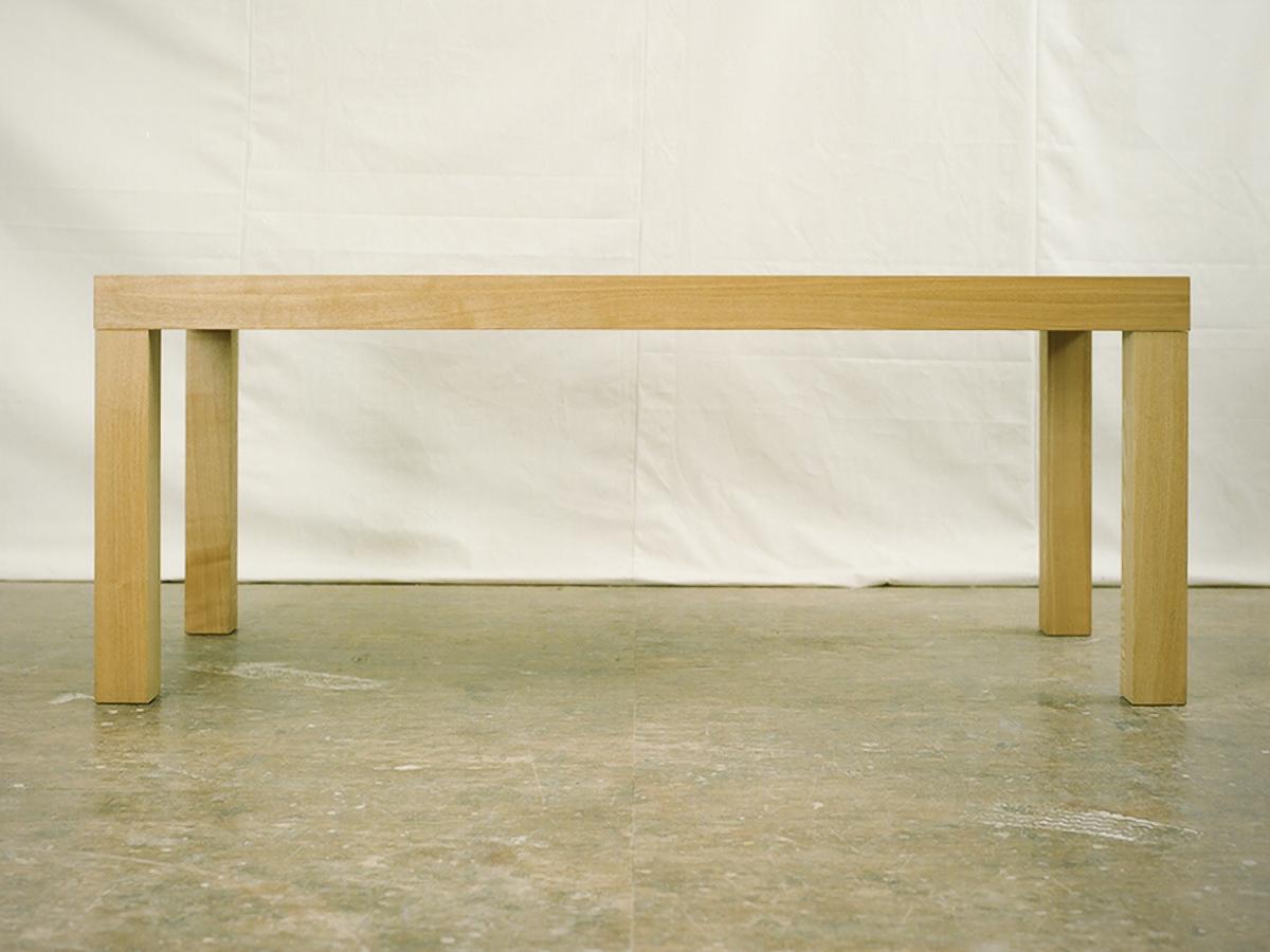 アッツテーブル タモ W1800×D800×H700mm