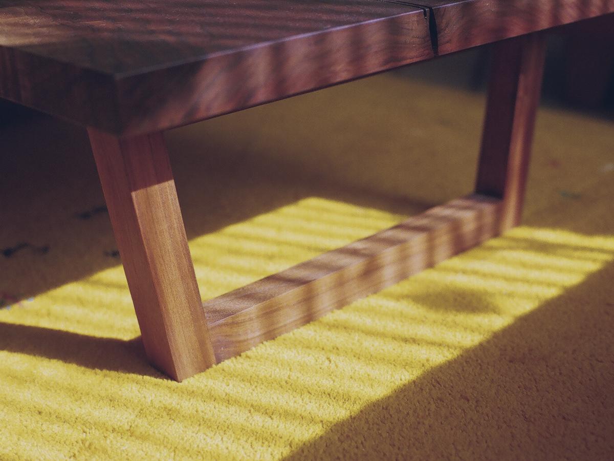 ローテーブル脚部 Oタイプ