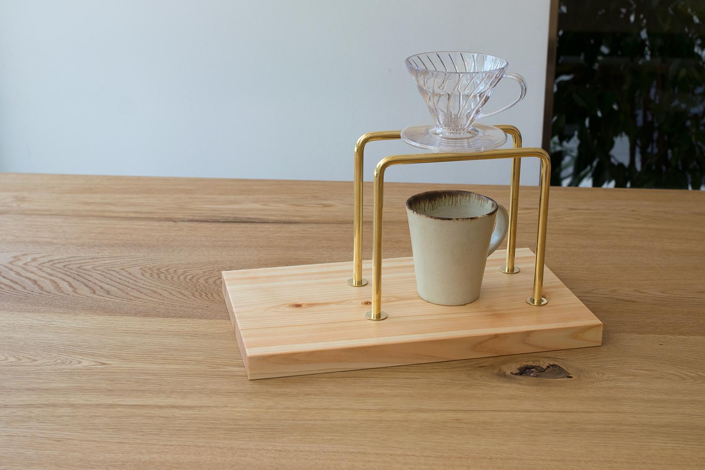 Tokyo36% kittaki コーヒードリップスタンド  ヒノキ coffee dorip stand