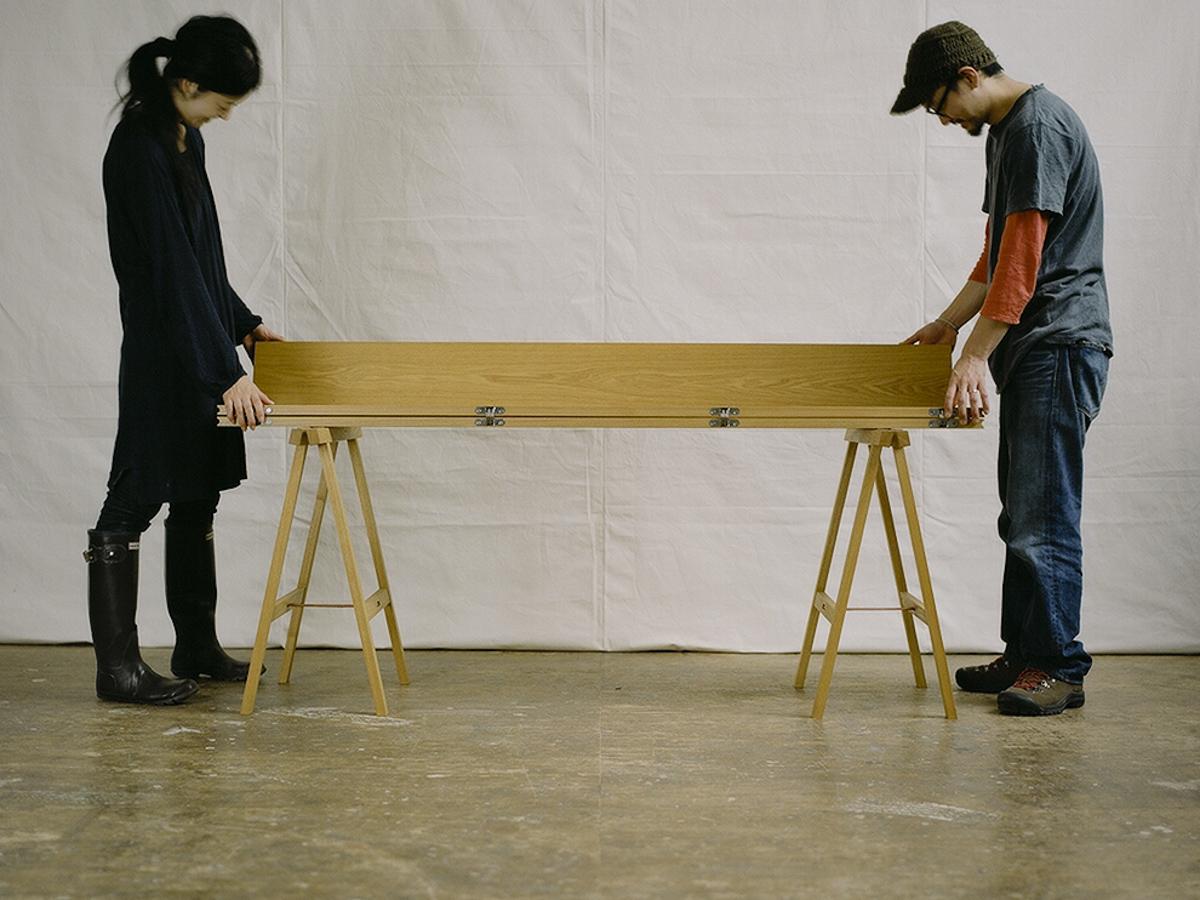 折りたたみテーブル ぱたむ 組み立て