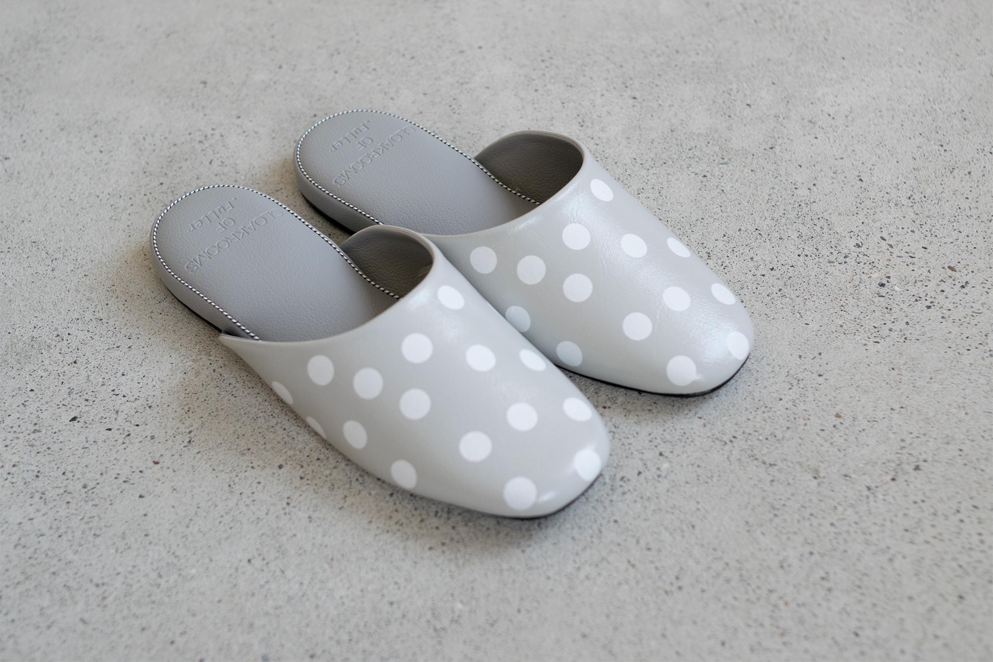 PANTOUFLE パントゥフル dots ドット スリッパ slipper