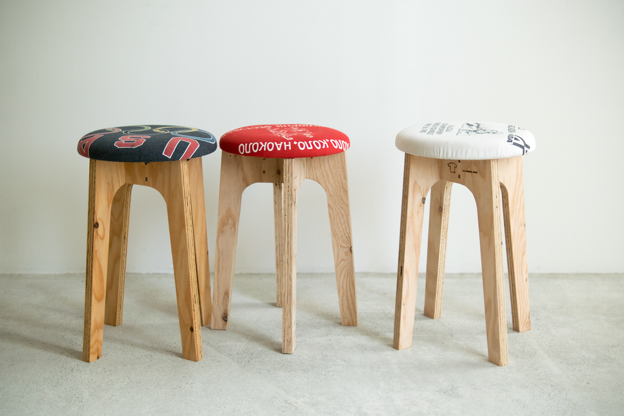 old clothes stool