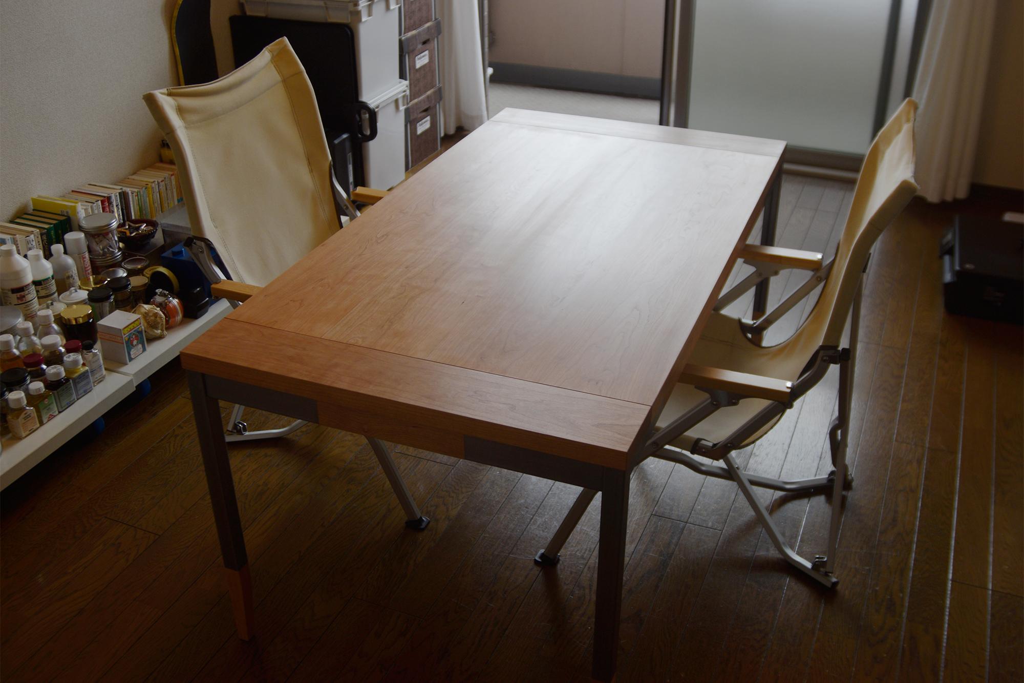 オルタナティブテーブル アメリカンチェリー材