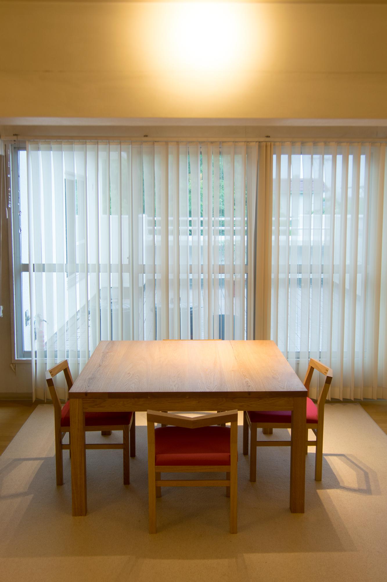 スタンダードテーブル・タイプ2 ピコチェア アッツスツール