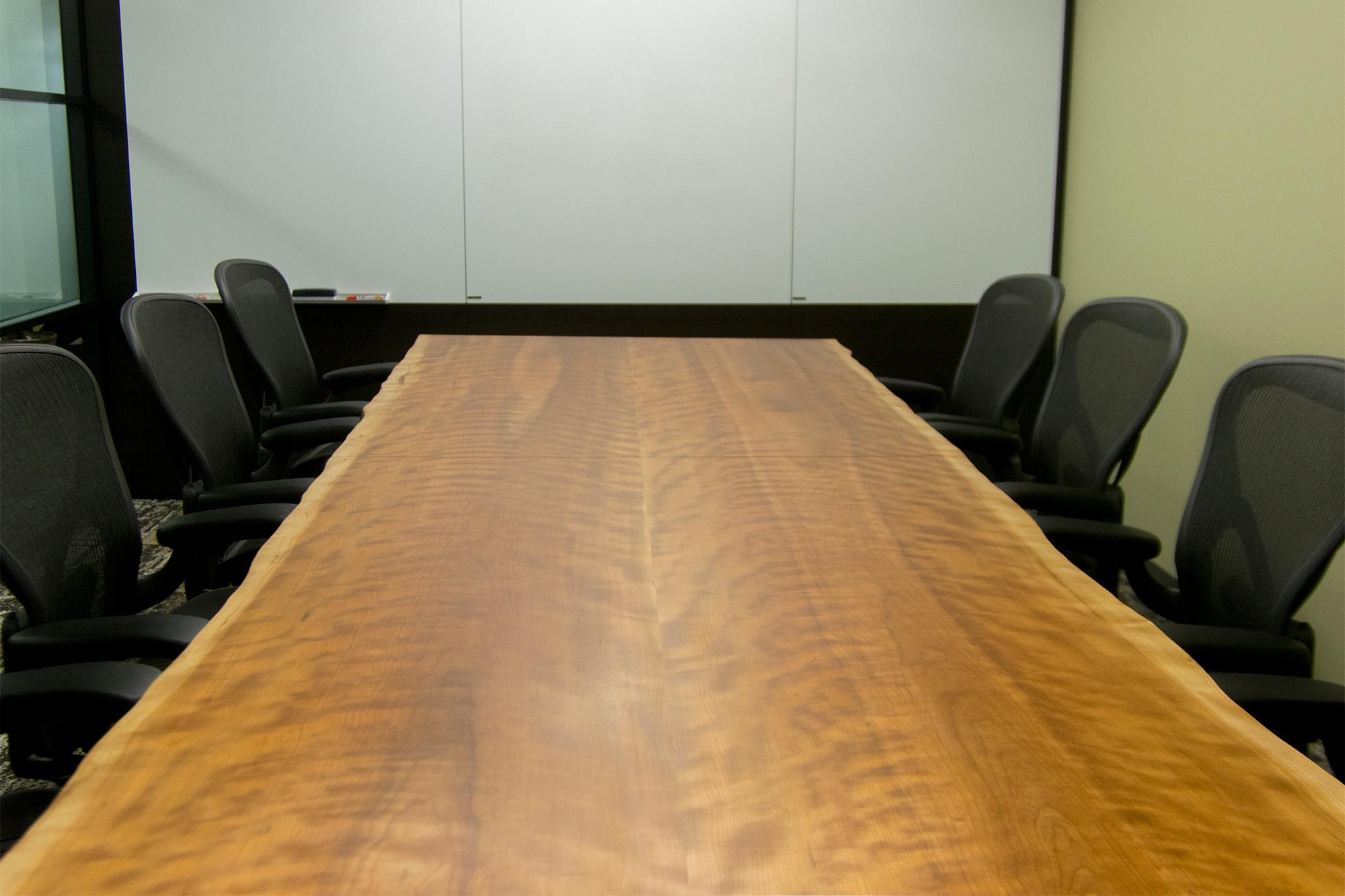 アメリカンブラックチェリー二枚接ぎ天板会議室用テーブル americancherry