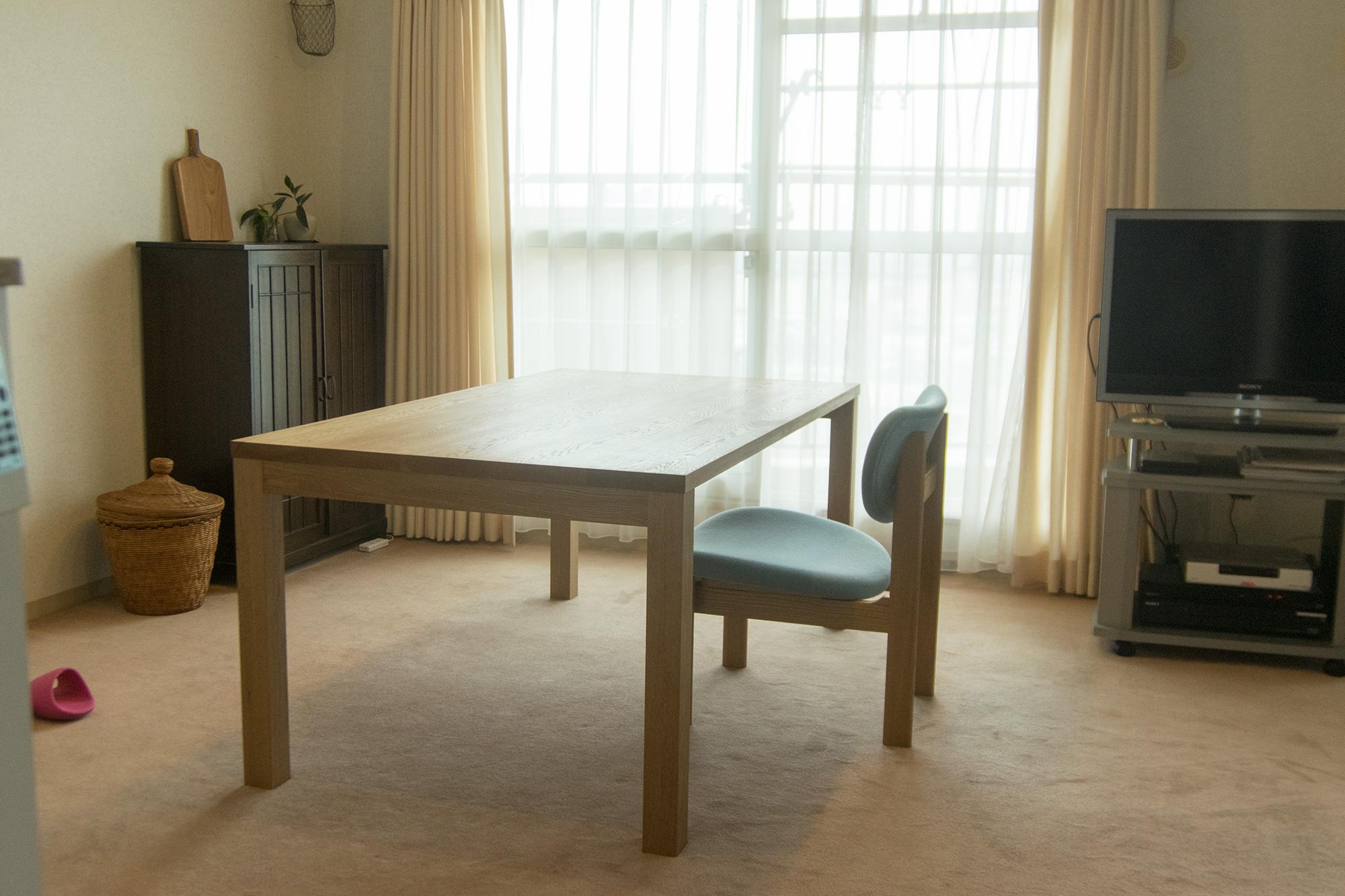 無垢テーブル スタンダードテーブル・タイプ2