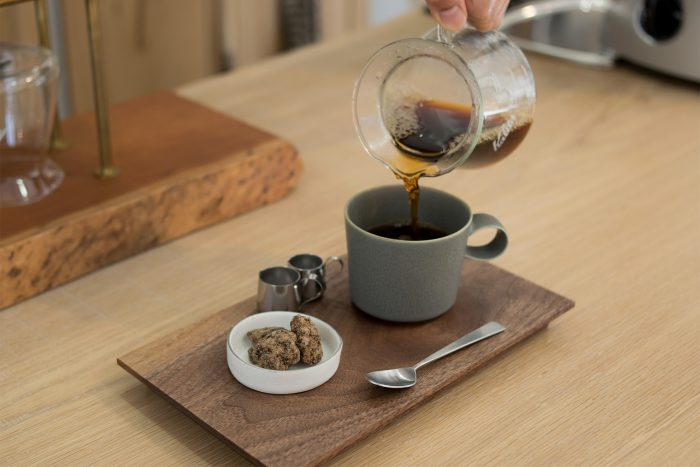 ウォールナットブレンドコーヒーとクルミのお菓子のセット