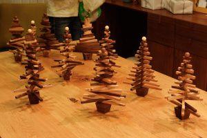 クリスマスツリーをつくろうワークショップ 2016年開催時 皆さまの作品