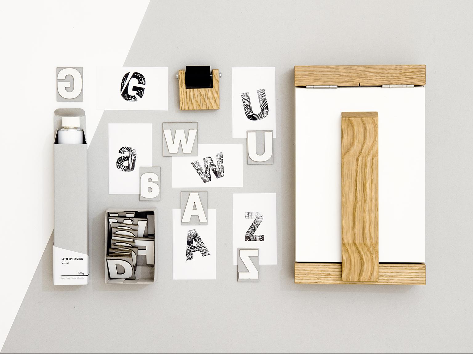 紙活字®印刷キット