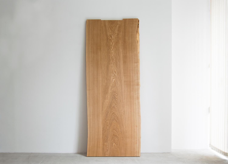 タモ三枚接ぎ無垢天板 (N14-11)