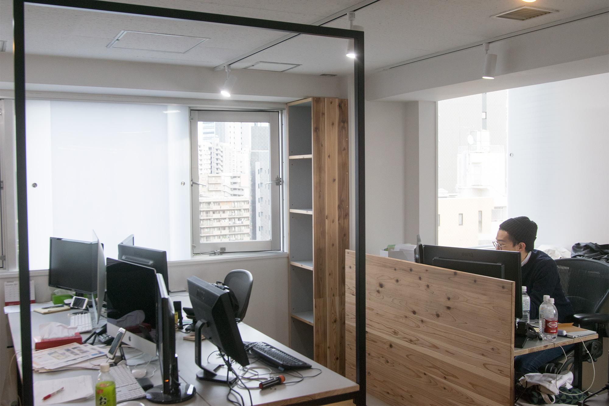 オフィス用 貼り下までの収納家具