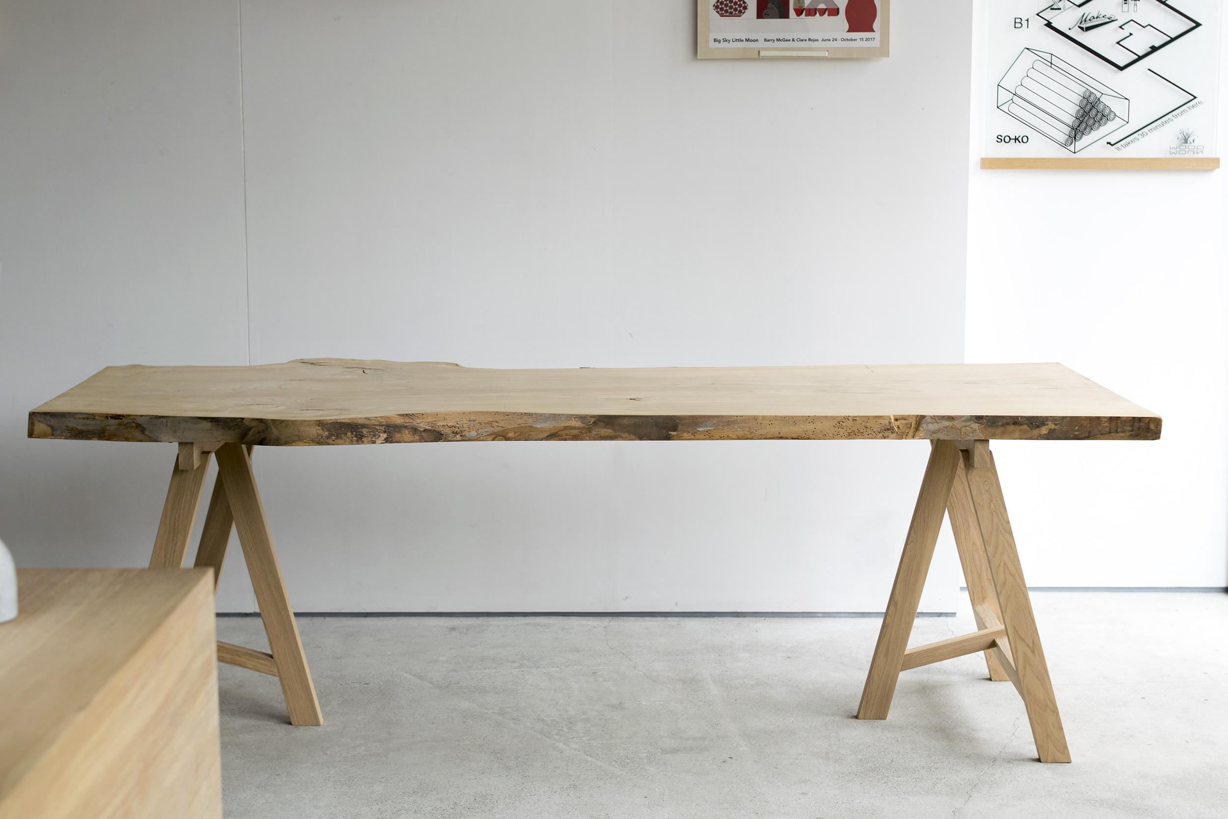 N11-07 ニレ(楡)一枚板天板