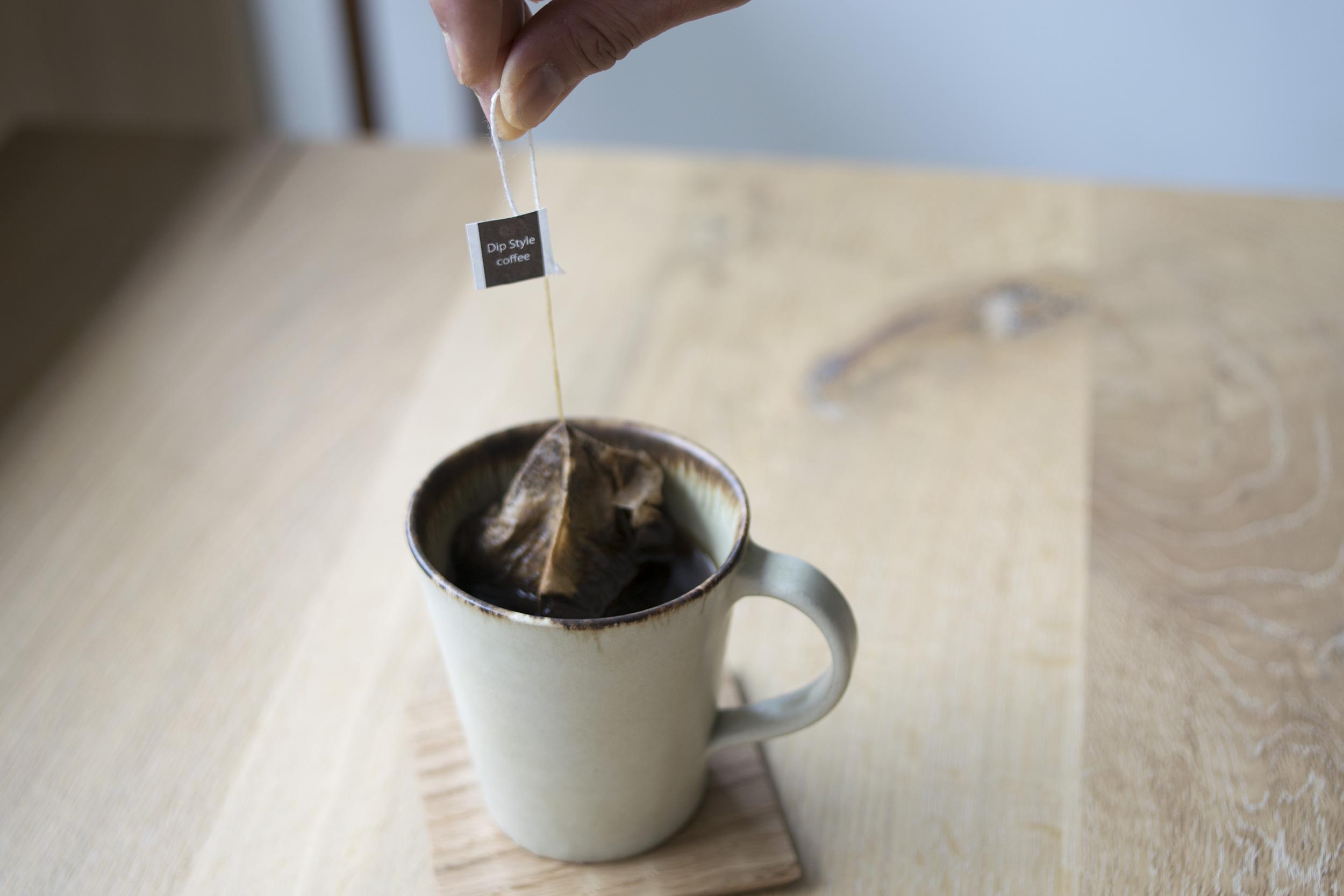 ダンク式コーヒー
