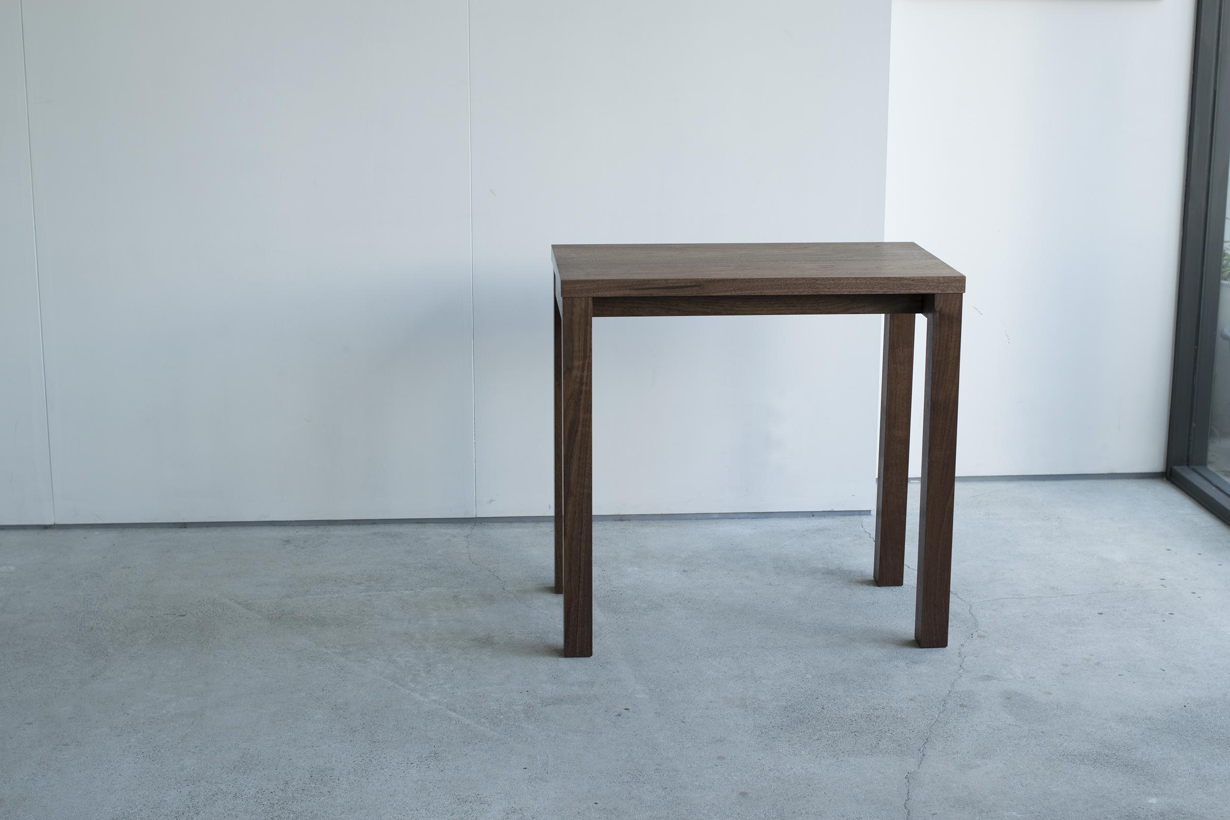 デスク ウォールナット材 スタンダードテーブル・タイプ1から