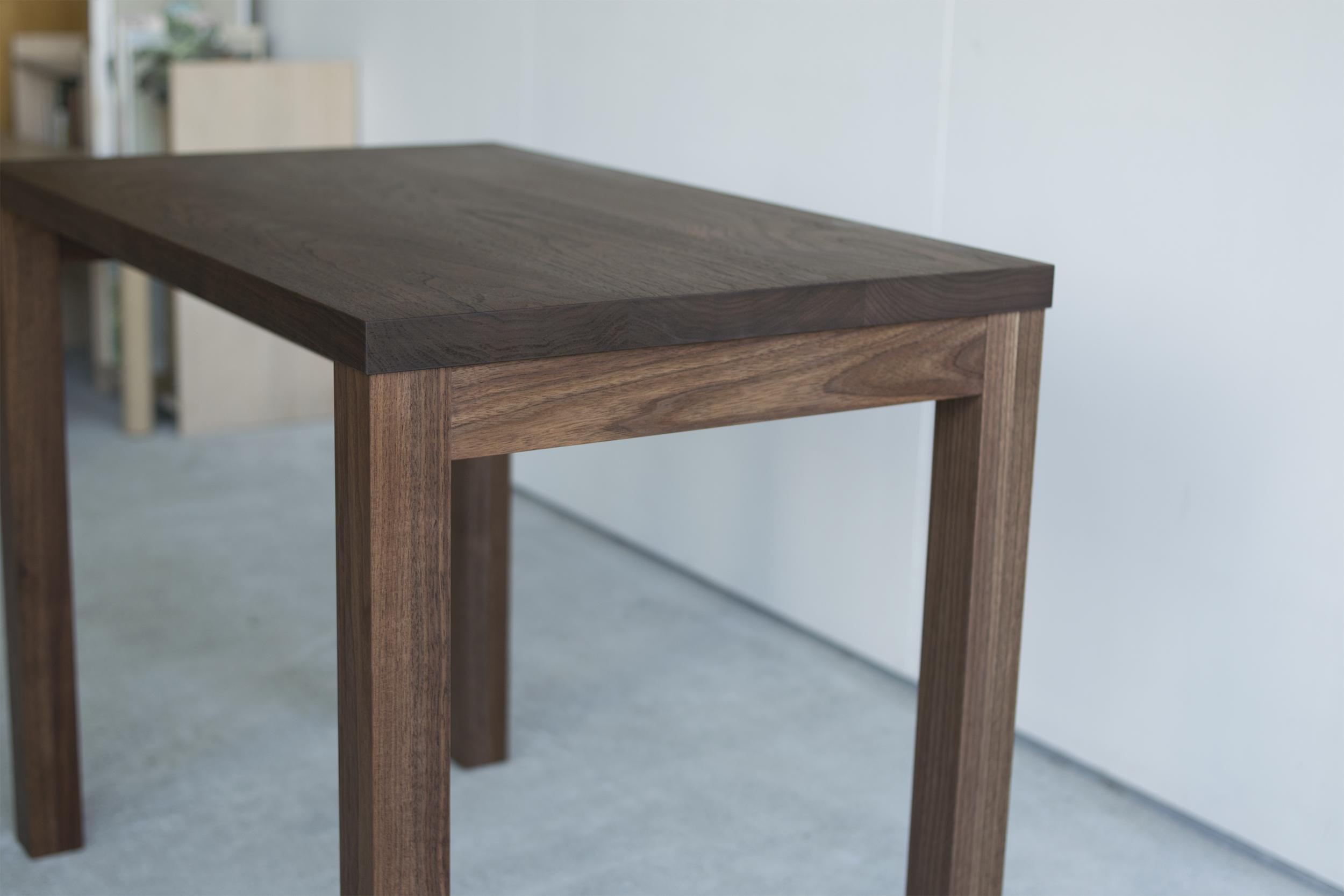 DESK STANDARD/TABLE WALNUT