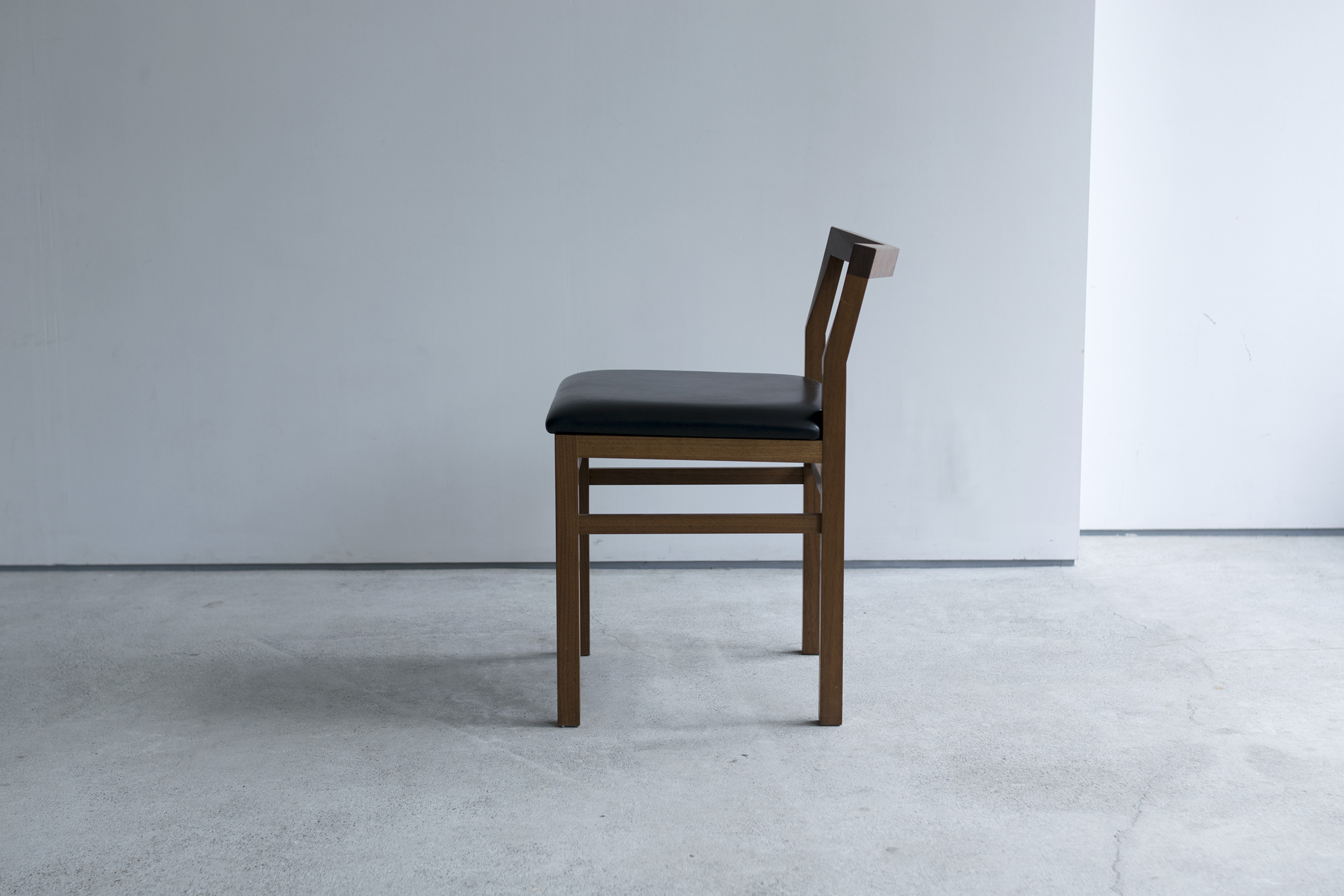 PICO Chair of the leather seat