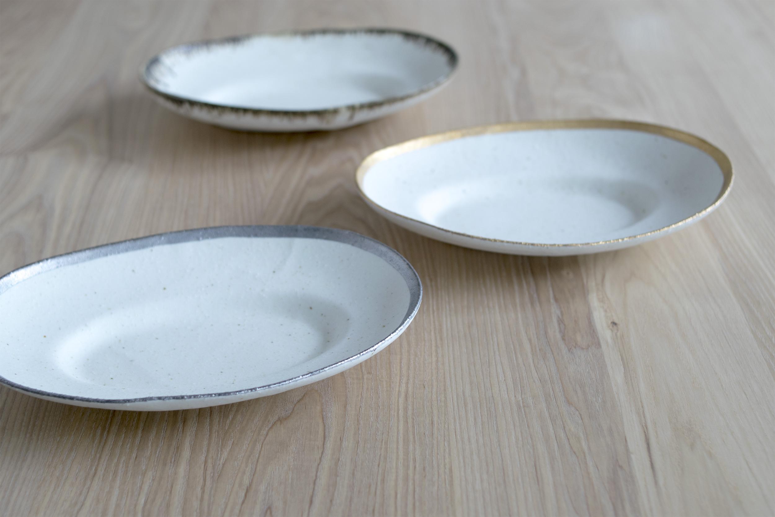 """小玉陶器 KODAMA TOKI """"My dish series"""" 型から出したところ"""
