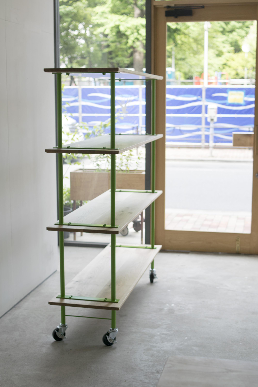 ご納品した、build rack シルエット