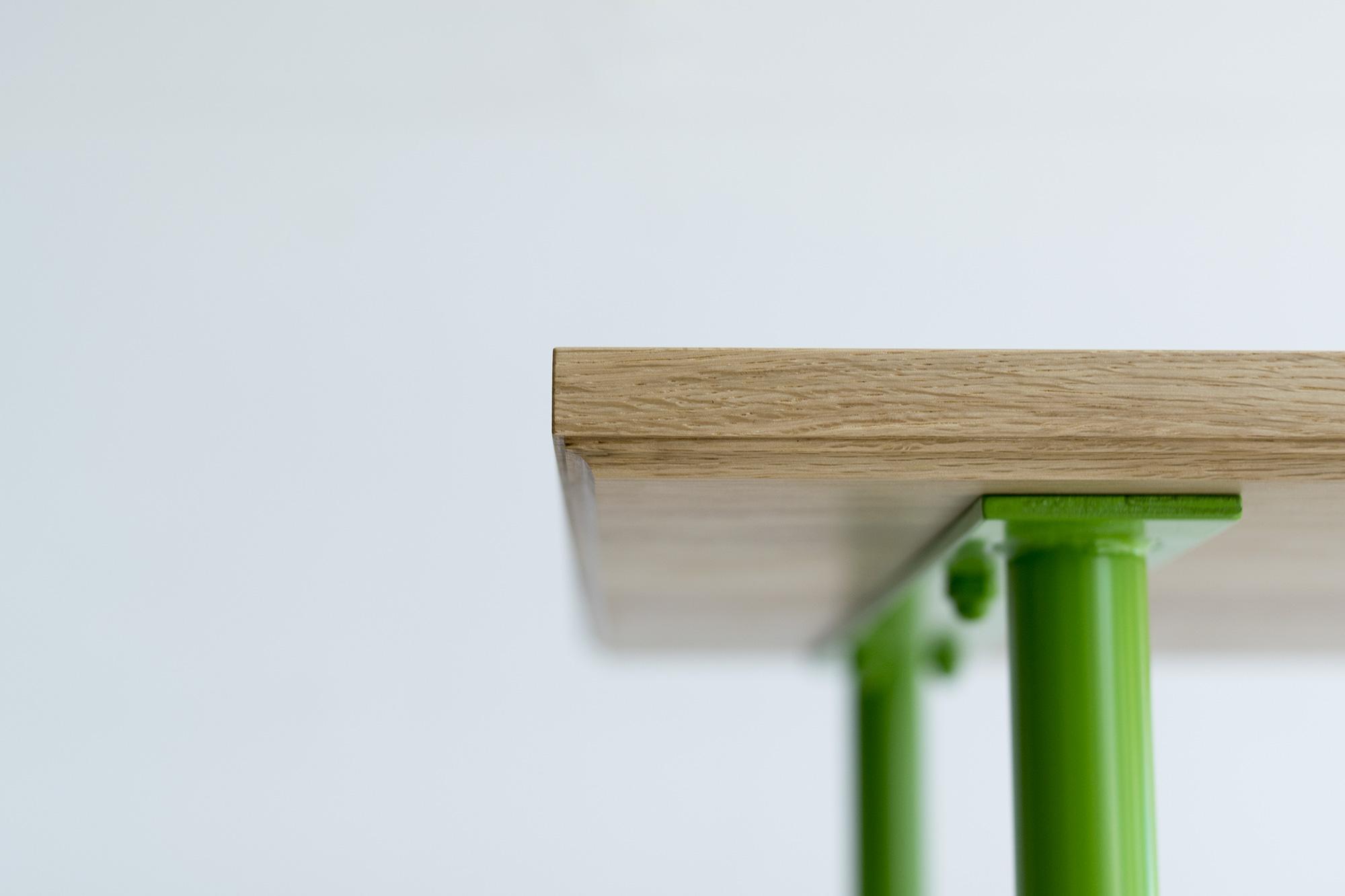 ご納品した、build rack ナラ材、オスモ塗装仕上げ