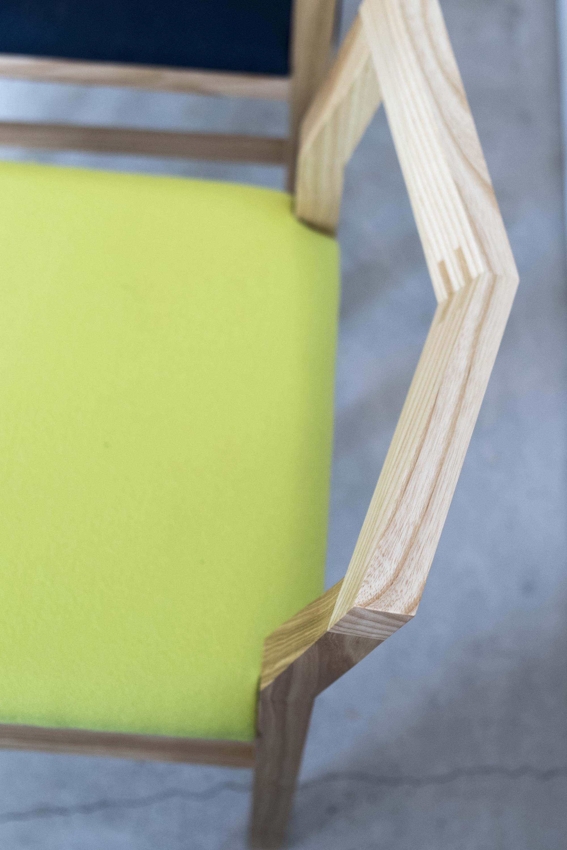 PICO Chair (ピコチェア・タモ材・ウグイス)